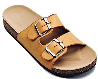 0f7486fdc Women s Soft Foam Cork Bed Double Strap Sandal