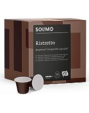 Amazon Brand Solimo Nespresso* Compatible Ristretto capsules- UTZ certified, 100 capsules (2 x 50)