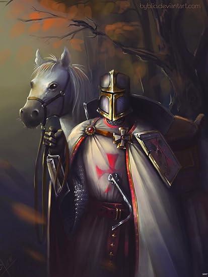 37f9ee9ec783b Amazon.com: Dragon Age Templar Warrior Knight Game Fan Art 24x18 Poster  Print: Posters & Prints