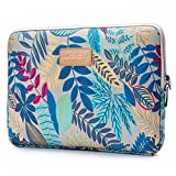 CoolBELL 12.9 Inch iPad Pro Sleeve Case Surface Pro 4 Bag Case Nylon Sleeve Bag Only for iPad Pro 12.9 Inch/Surface Pro 4/12 Inch New MacBook/Men / Women (Grey Leaves)