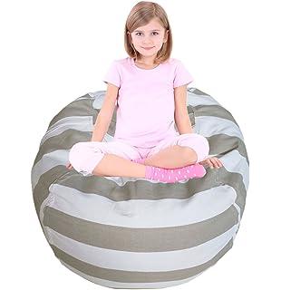 Kids Bean Bag | Large Bean Bag | Toy Storage | Childrenu0027s Chair Cover |  Children