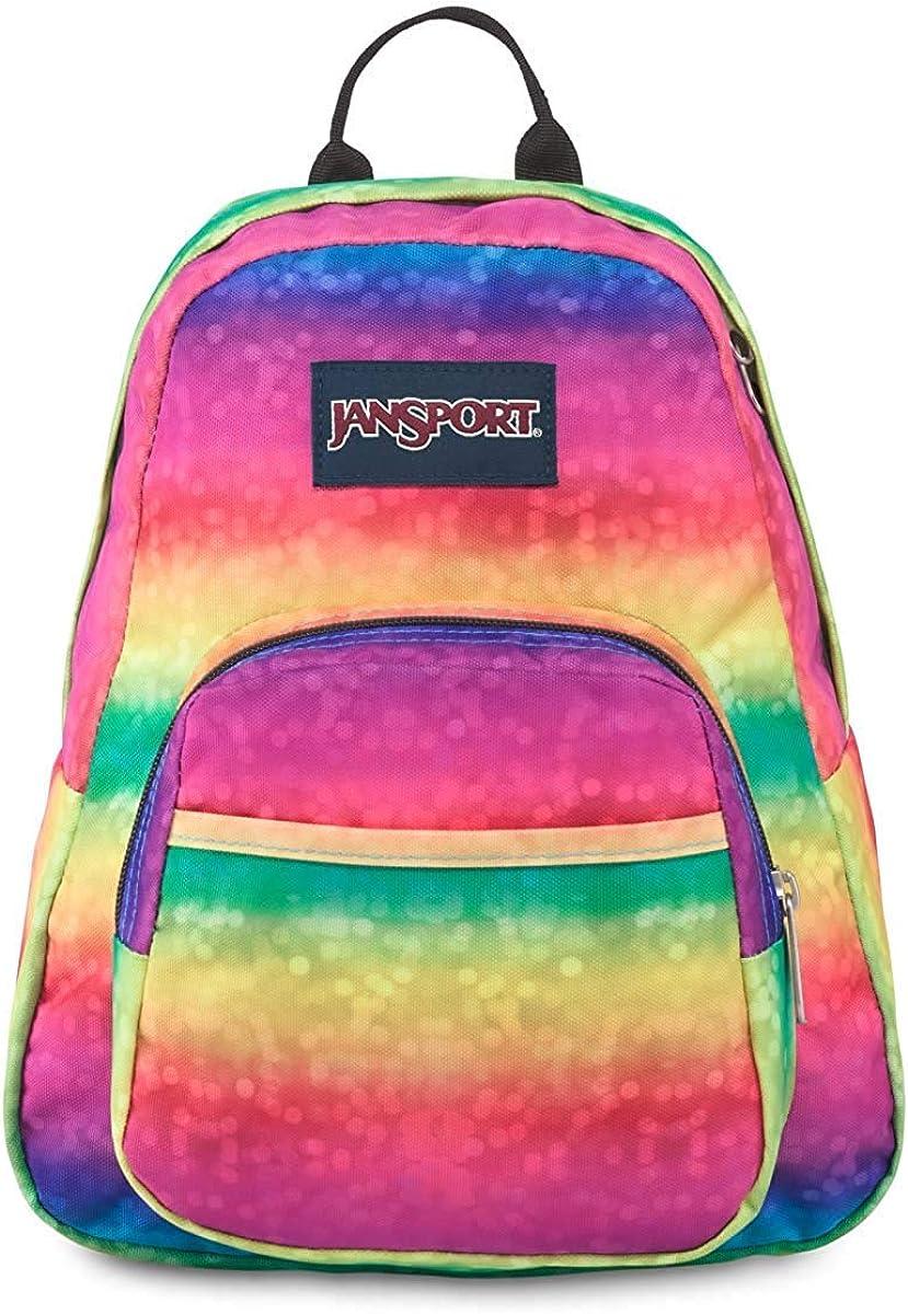 JanSport, Half-Pint Mini Backpack (Rainbow Sparkle - ONESZ)