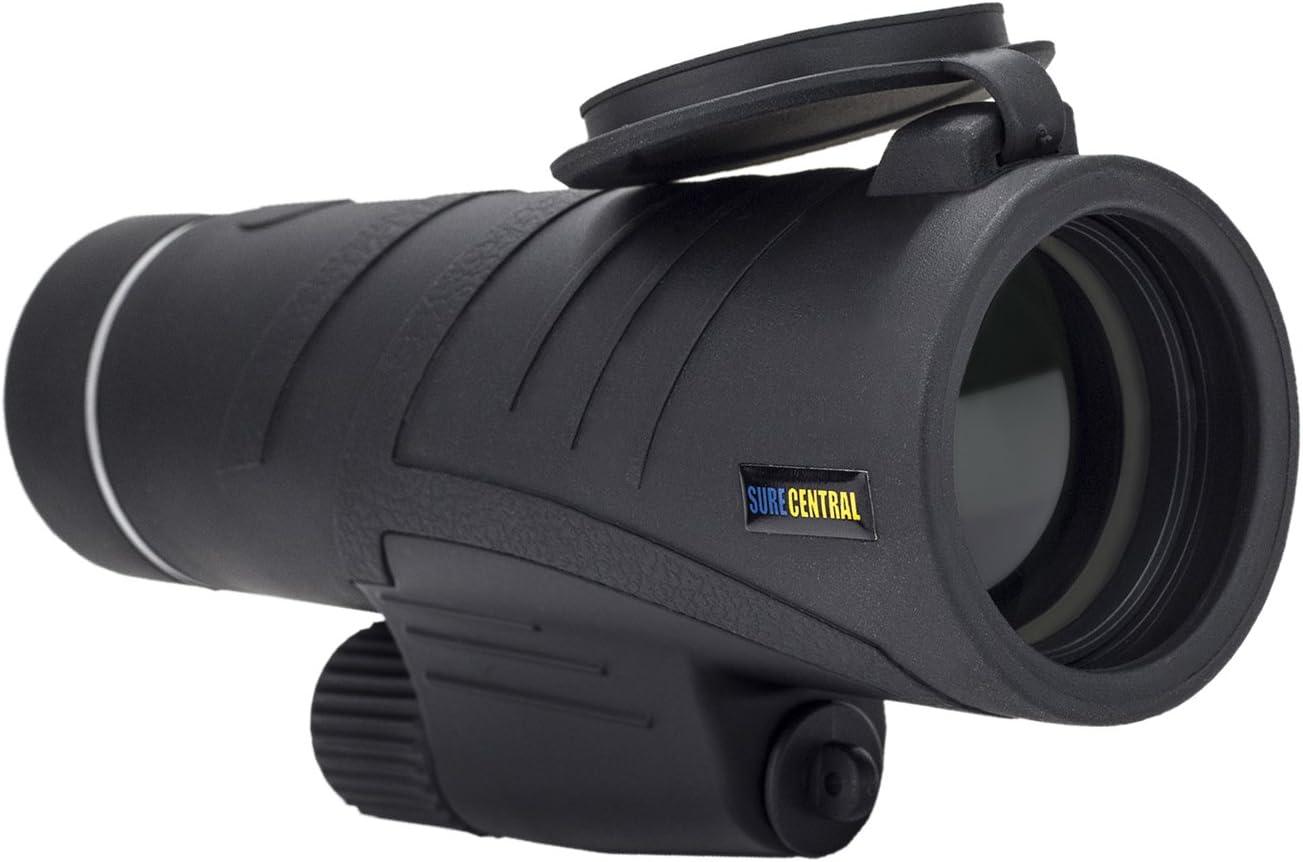 SureCentral 10×42 BaK4 Fully Multi Coated Lens Monocular Hiking, Wildlife, Hunting, Shooting