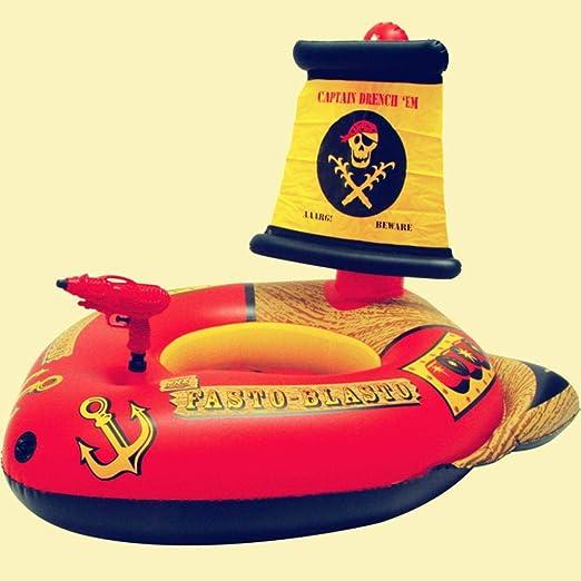 Never-hu Balsas inflables del Barco Pirata de los niños del ...