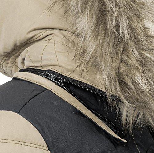 Jacket Jacket khujo Small Small khujo Beige Beige Women's Jacket khujo Women's Women's 1WnOZSWU