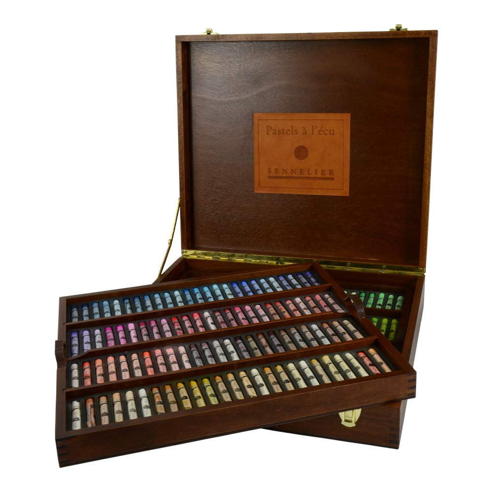 Sennelier Soft Pastel Wood Box Set of 175 Full Sticks
