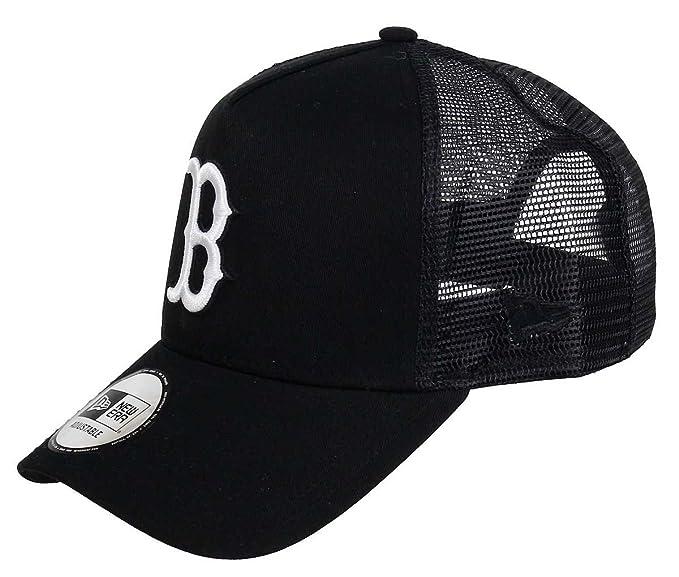 dobra obsługa połowa ceny najlepsza wyprzedaż New Era - Boston Red Sox - A-Frame Trucker Cap - Black White ...