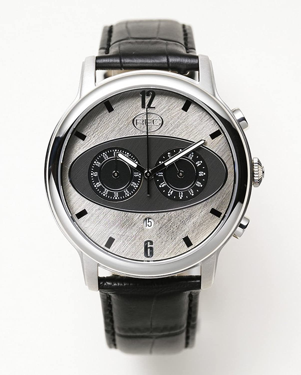 REC Watches Mark I M1 Herren-Armbanduhr Chronograph