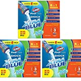 Clorox Pool&Spa Shock xrrvKl Xtra Blue, 6-Pound 33006CLX, 3 Pack