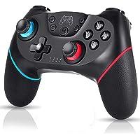 Bufan Controlador Inalámbrico para Nintendo Switch, Switch Console Controlador Bluetooth con Turbo, Eje de Giroscopio y Gamepad de Doble Vibración, para Nintendo Switch y PC, 6 Horas de Tiempo de Juego