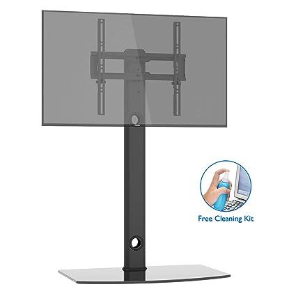 Amazoncom 1home Universal Tv Stand With Swivel Bracket Height