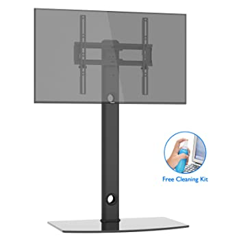 Amazon Com 1home Universal Tv Stand With Swivel Bracket Height
