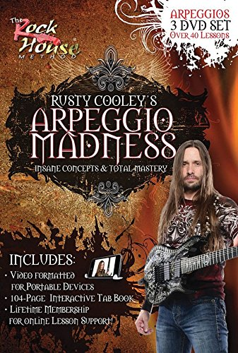 Rusty Cooley: Arpeggio (Advanced Rock Guitar Dvd)