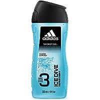 Adidas Ice Dive gel doccia, 250ml, confezione da 6