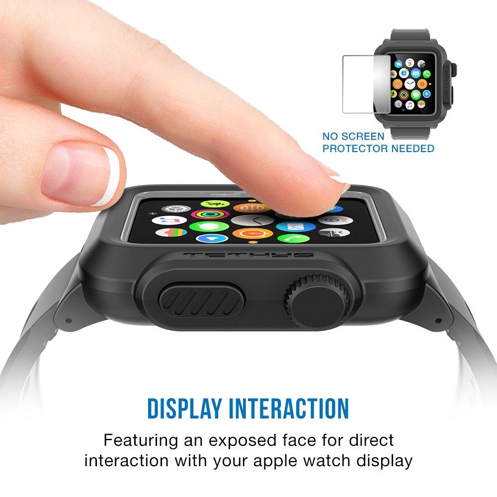 best loved 4507a ed212 Apple Watch Case 38mm, TETHYS Waterproof Case for APPLE WATCH 38MM ...