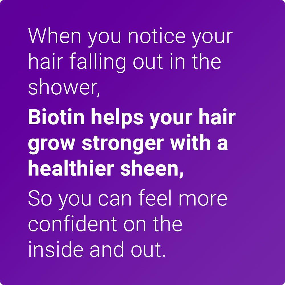 Biotin Plus from IntraNaturals, 90 Vegetarian Capsules, Advanced Hair, Skin, & Nails Complex Containing 5,000mcg of Biotin + Vitamins C, E, B3, B6, and B12 - Non-GMO - Lifetime Guarantee