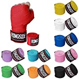 Ringside Mexican Style Muay Thai MMA Kickboxing Training Boxing Hand Wraps (Pair)