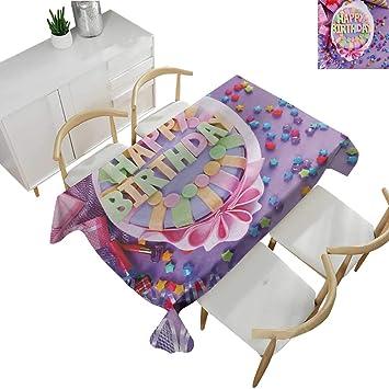 Birthday Vintage Tablecloths Delicious Birthday