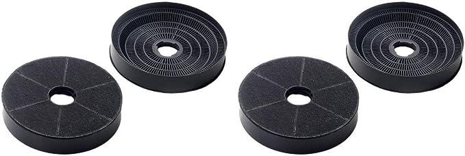 2x Filtro de carbón ?200 200/210 mm Campana extractora Bosch Siemens 353121: Amazon.es: Grandes electrodomésticos