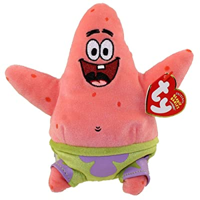 TY Beanie Babies Patrick Star [Toy]: Toys & Games