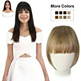REECHO Fashion One Piece Clip in Hair Bangs / Fringe / Hair Extensions