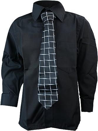 The Gorgeous 1 Niños Niño Camisa con entsprechender Corbata Negro ...