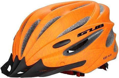 OLEEKA Casco de Bicicleta con Visera 58-62 CM Casco de Doble ...