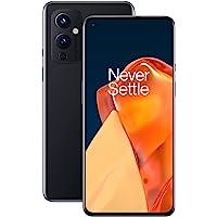 Smartfon OnePlus 9 5G, bez karty SIM, z aparatem Hasselblad do urządzeń mobilnych - Astral Black 8GB RAM 128 GB - 2 lata…