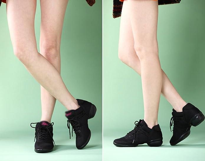 Youpue De Hop Mesh Fitness Chaussures Danse Femme Jazz Lacet Casual Hip Respirant Walking 0wk8XPnO