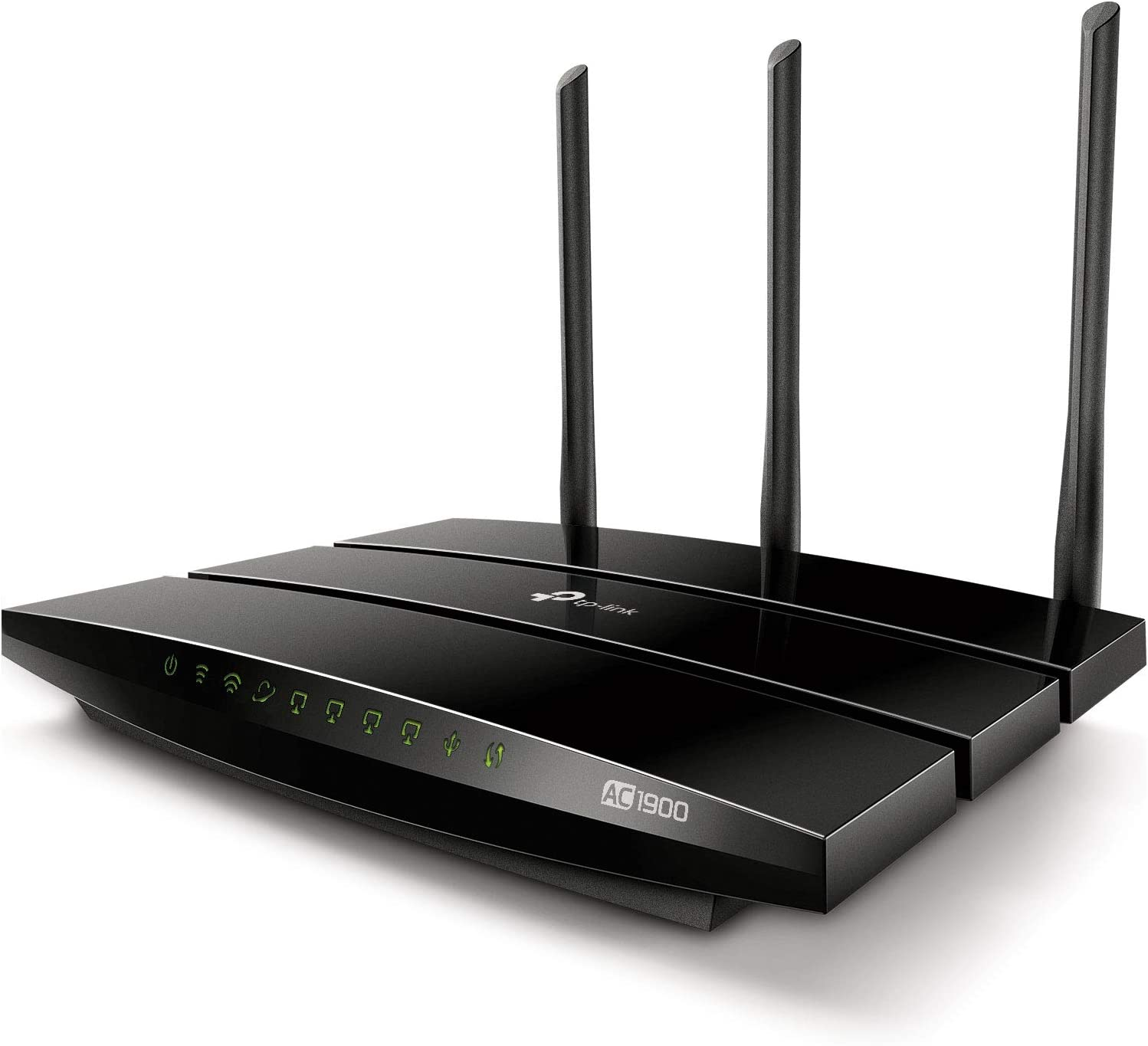 TP-Link AC1900 Smart WiFi Router - High Speed MU- MIMO Router, Dual Band, Gigabit, VPN Server, Beamforming, Smart Connect, Works with Alexa (Archer A9)