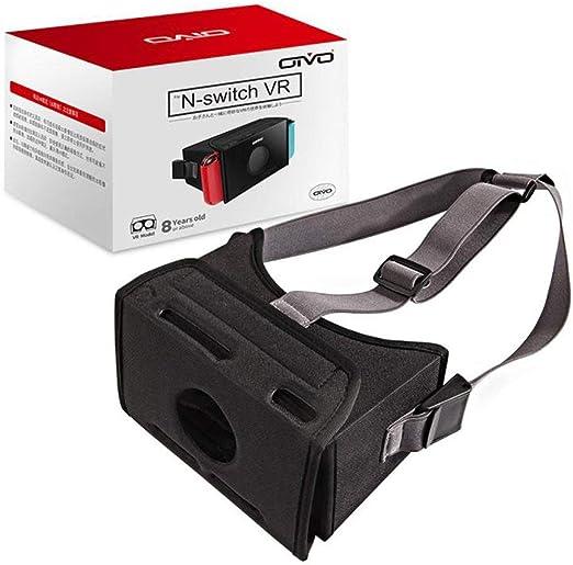 Hehilark VR - Gafas 3D para Nintendo Switch (Montaje en la Cabeza VR Films de VR-Box, Juego de Realidad Virtual): Amazon.es: Hogar