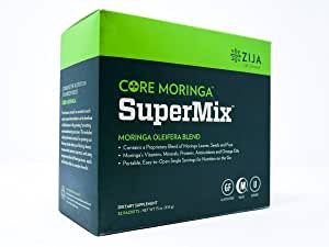 Zija SuperMix Moringa Oliefera Detox Dietary Supplement - 32 Sachets - 1.4 lbs