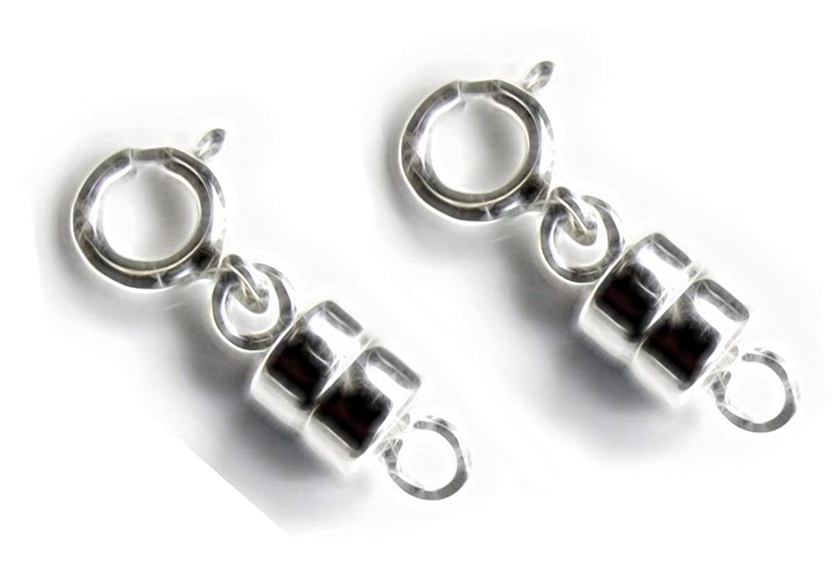 2 Sterling Silver Converters Magnetic Clasps (2 sets) uGems T-08171
