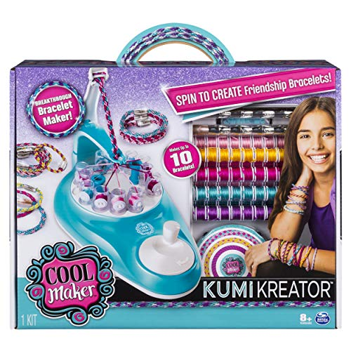 Cool Maker, KumiKreator Friendship Bracelet Maker, Makes Up to 10 Bracelets, for Ages 8 and Up