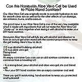Organic Aloe Vera Leaf Gel - 100% Pure With