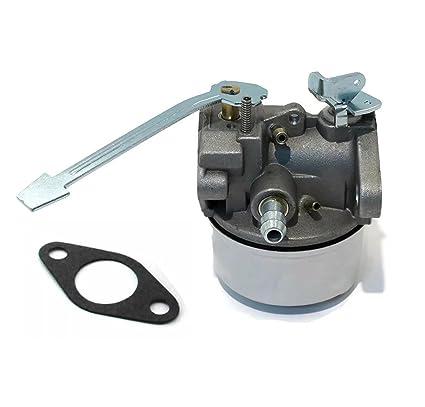 Amazon.com: paddsun Carburador para Tecumseh 640086 un 3HP ...
