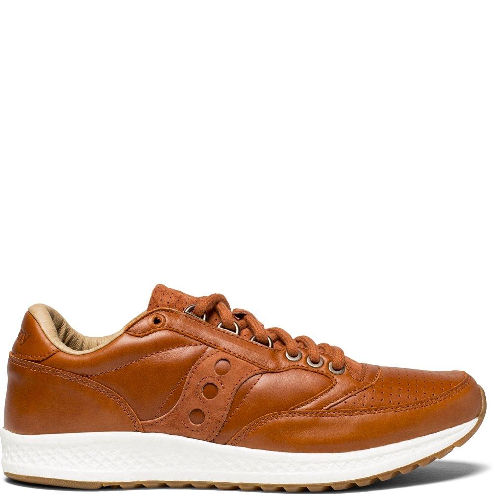 Saucony Originals Men's Freedom Runner Running-Shoes B078R9BHQC 7.5 D(M) US|Brown