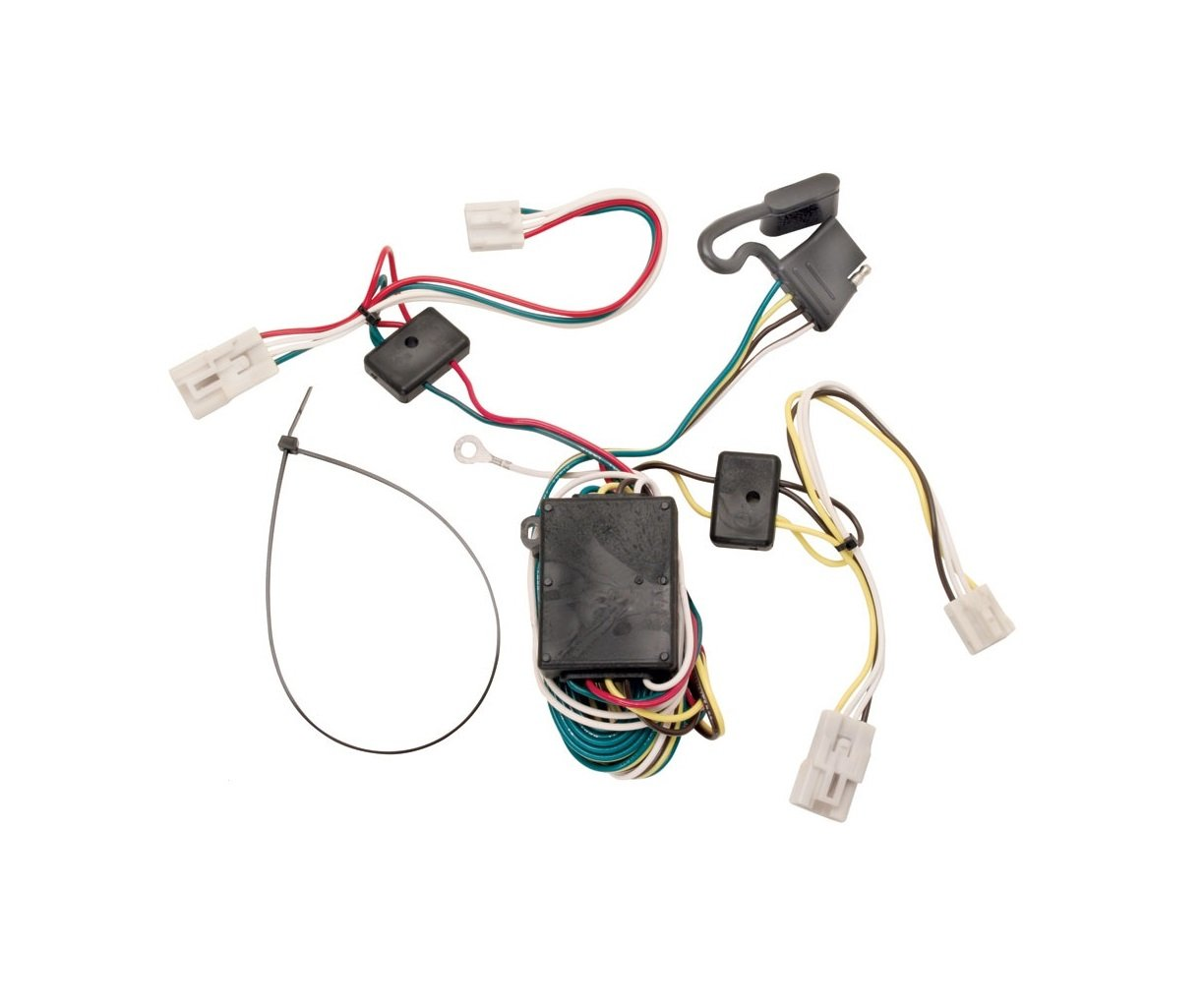 Best Rated In Automotive Replacement Electrical Wiring Harnesses Trailer Harness Diagram Besides Flat Tow Jeep Wrangler Tekonsha 118304 T One Connector Assembly With Converter Product Image