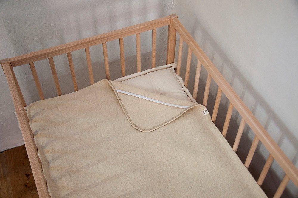 Home of Wool/Wool Puddle Pad/Non-toxic Protector/Natural Moisture Barrier/Cover for Changing Table, Crib, Cradle or Bassinet Mattress/Custom Sizes Available