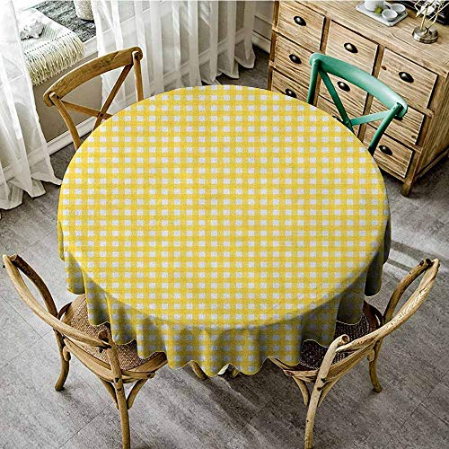 Rank-T The Pattern Round Table Cloth 50