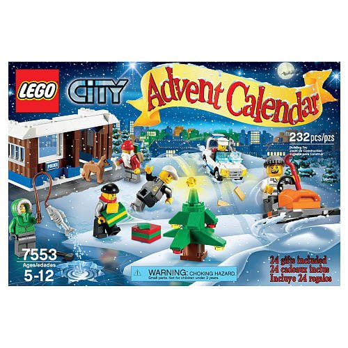 משחק לגו- LEGO 2011 City Advent Calendar 7553