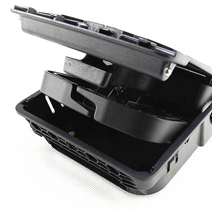 yangcan OEM Negro Reposabrazos central trasera portavasos para VW Jetta MK5 Golf GTI MK5 MK6 EOS: Amazon.es: Coche y moto