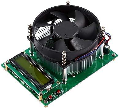 150w Konstantstrom Elektronische Last Kartenbatterie Entladen Konstantstromlast Kapazität Tester Instrumentierung Modul Mit Kühler Lüfter Baumarkt