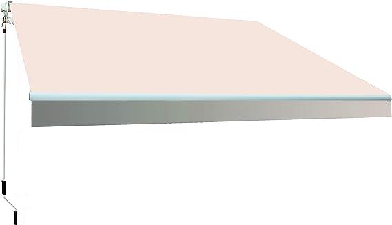 SmartSun Classic Toldo Completo 3x2m Color Crudo Lona poliéster ...