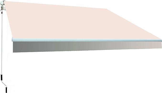 SmartSun Classic Toldo Completo 4x2, 5m Color Crudo Lona poliéster ...