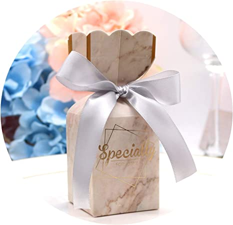 Creative Wedding Gift Candy Boxes Baby Shower Birthday Guests Wedding Favors And Gifts Bag Event Party Decorations Supplies Light Grey 100 Pcs 5 8x5 8x9cm Amazon Ca Home Kitchen