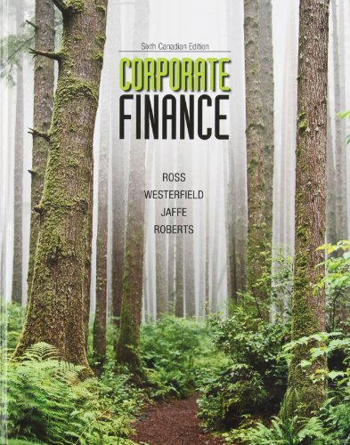 Corporate Finance, Canadian Edition