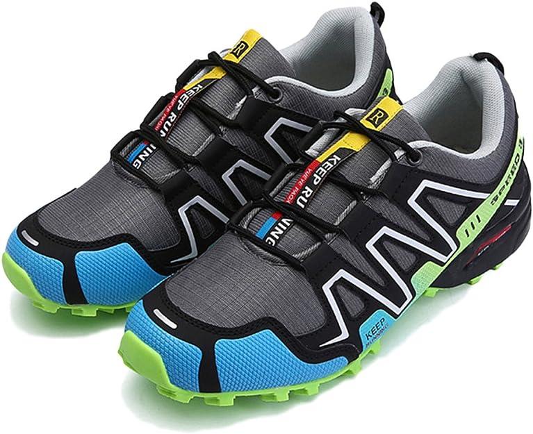 Zapatos De Trail Running para Hombre Cómodo Lace Up Lighten ...