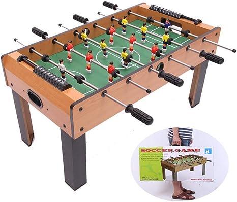 ZY Fútbol de Mesa Juego de 6 Polos for niños Mesa de Hockey de Mesa de futbolín fútbol de Mesa Juego de Mesa LOLDF1: Amazon.es: Deportes y aire libre
