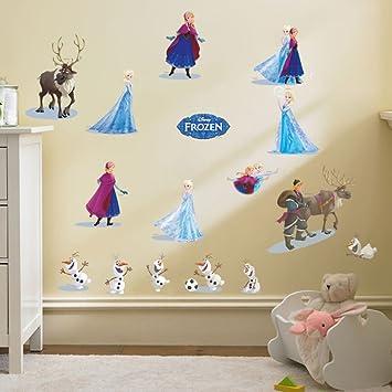 Smart Art Disney Frozen Wandsticker Schön Schnee Prinzessin ...